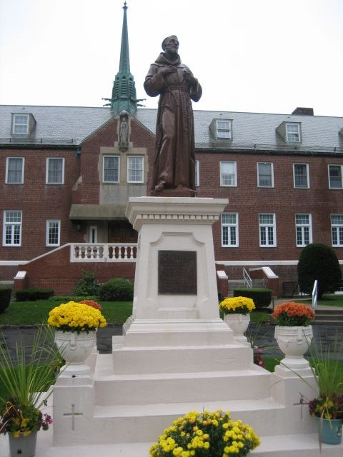St. Francis in Front of Monastery